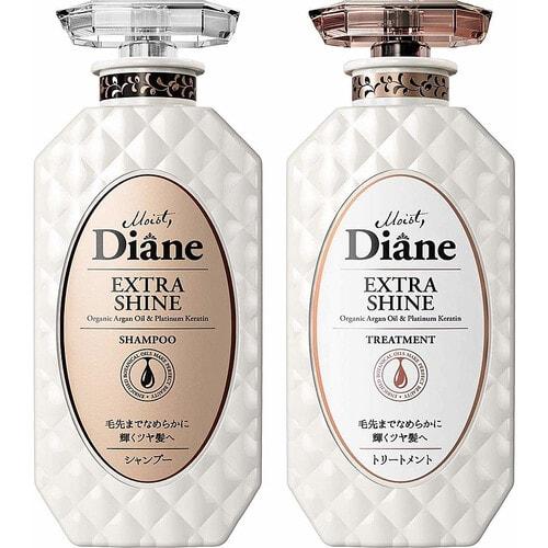 "Moist Diana Perfect Beauty Extra Moist & Shine Шампунь для волос кератиновый ""Увлажнение"" , 450 мл."