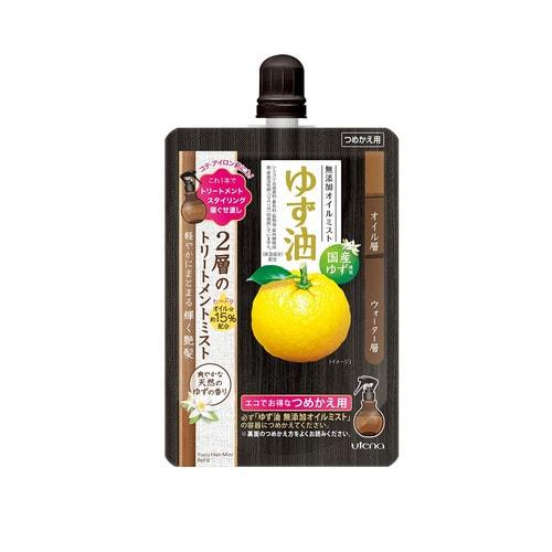 """UTENA Спрей """"Yuzu-yu"""" на основе масел цитрусовых для увлажнения и питания волос 160 мл./ 369511"""