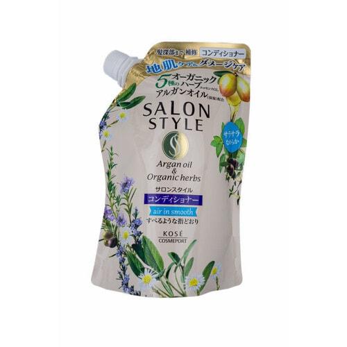 """Kose cosmeport """"Salon Style"""" Увлажняющий шампунь  с экстрактом имбиря для сухих поврежденных волос, м/у 360 мл"""