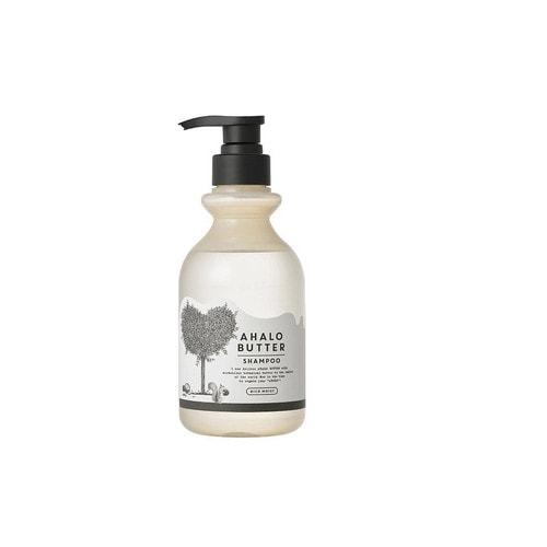 AHALO BUTTER Shampoo Rich Moist Увлажняющий пенный шампунь с тропическими маслами и кленовым сиропом (без сульфатов и силикона) 500 мл / 561896