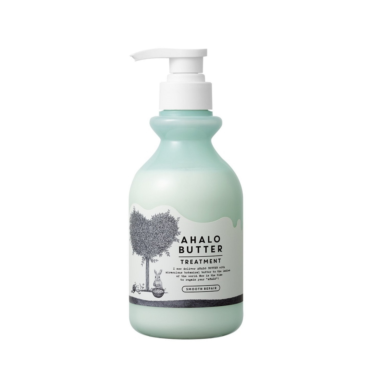 AHALO BUTTER Butter Smooth Repair Treatment Бальзам-ополаскиватель восстанавливающий для гладкости, блеска и роста волос (без сульфатов), 500 мл./ 562237