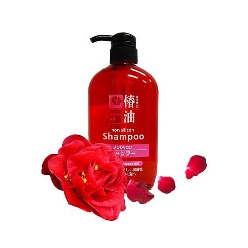 COSME Shampoo Tsubaki Oil Шампунь с натуральным маслом камелии для объема и блеска волос, 600 мл