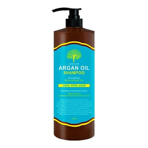 CHAR CHAR Argan Oil Shampoo  Шампунь для волос с Аргановым маслом, 1500 мл